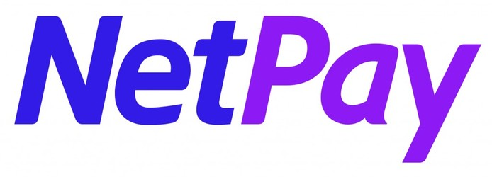 NetPay logo - the words 'Net' and 'Pay' written in a blue and purple italicised font