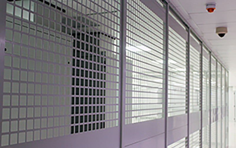 Security cages at Datum data centres
