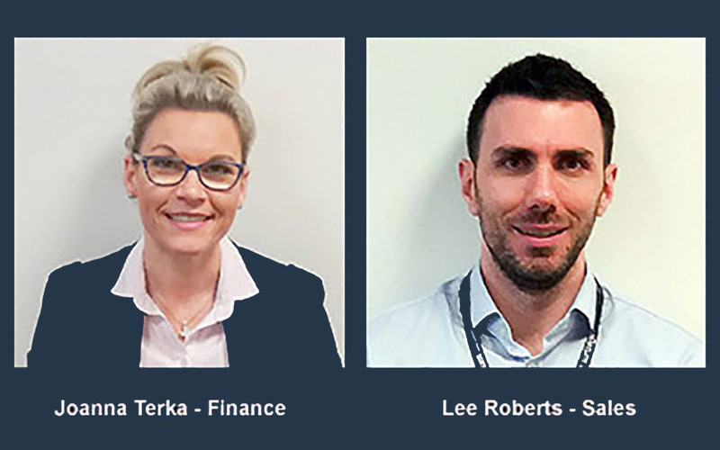Datum staff: Joanna Terka - Finance & Lee Robers - Sales
