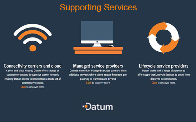 Additional services from Datum