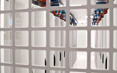 Datacentre cage at Datum